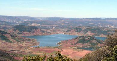 Panorama du lac Salagou