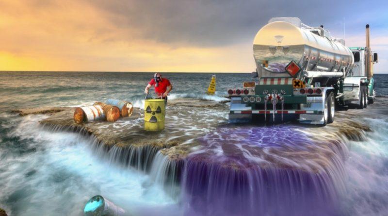 Montage : différentes formes de pollution de l'eau