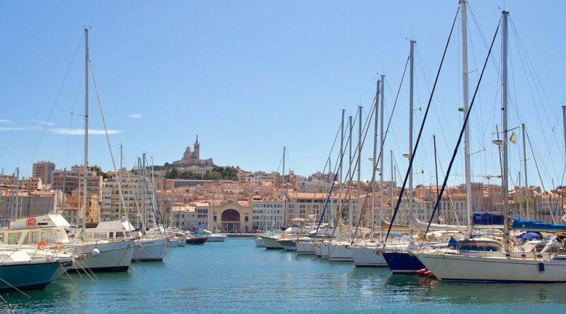 Bateaux sur le port de Marseille
