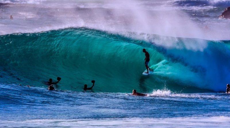 Faire du surf en Australie